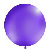 Stor enfärgad ballong - 1m - pastelllila