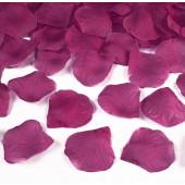 Rosenblad - 100 st mörkrosa