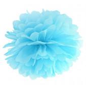 Pompom himmelsblå 35 cm