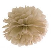 Pompom guld 35 cm