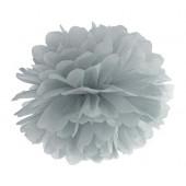 Pompom grå 35 cm