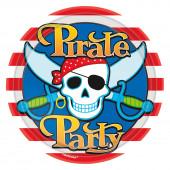 Pirate Party paptallerkner