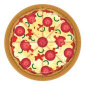 Pizza Party paptallerkner
