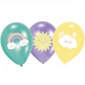 Rainbow & Cloud balloner