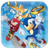 Sonic The Hedgehog tallerkner