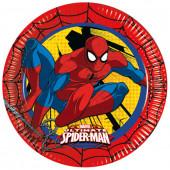 Spiderman papperstallrikar