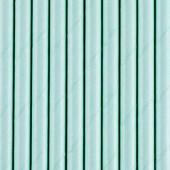 Papirsugerør - pastel sky blå - 10 stk