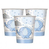 Blå elefant papkrus