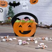 Halloween Bus eller godisväska